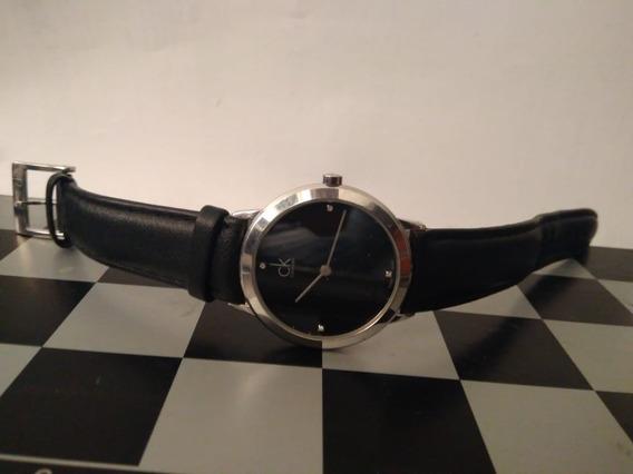 ¡¡ Remato ¡¡ Elegante Reloj Calvin Klein Qzo (diamantes)