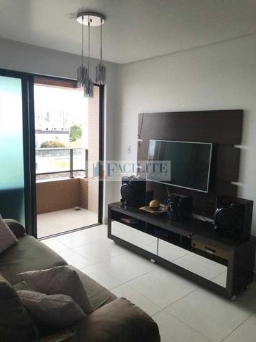 2807 - Apartamento Para Vender, Bessa, João Pessoa, Pb - 22470
