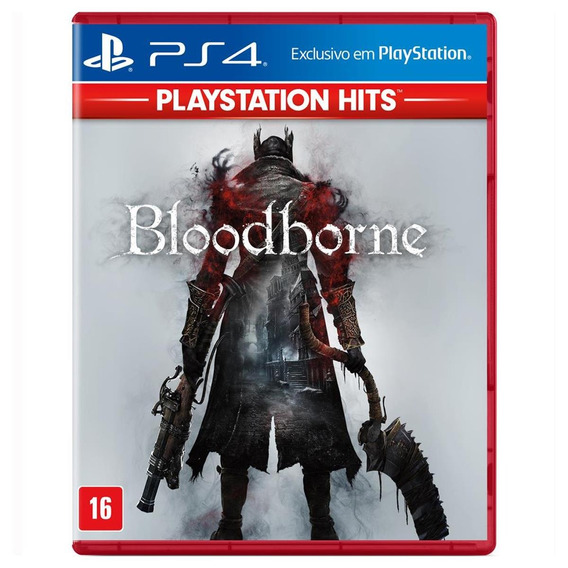 Bloodborne Hits - Ps4 - Mídia Física
