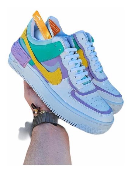 Tenis Nike Air Force 1 Shadow Feminino Estilo Gringo Imports