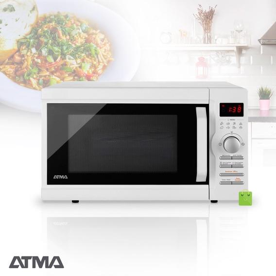 Microondas Atma 28 Lts 900w Grill Digital 5 Niveles Md1728gn