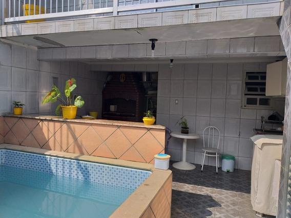 Casa 2 Qtos(suite)+edícula, 4 Gar,, Piscina C/cascata $ 260.