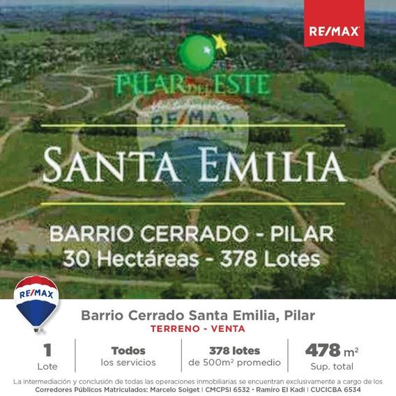 Venta Lote Santa Emilia Pilar Del Este