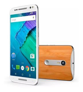 Celular Novinho Motorola Xt1572 Moto X Style Dual Chip Bambu