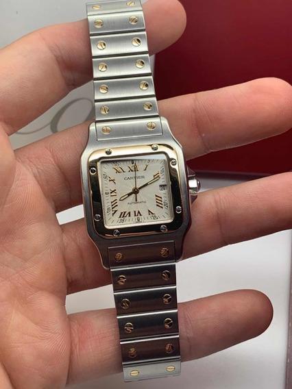 Cartier Santos Automatico Acero Oro Edicion 100 Rolex