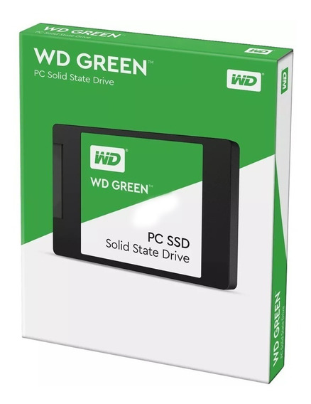 Hd Ssd 120gb Western Digital Green Sata 2.5 Pc Notebook