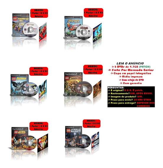Kit 6 Legos Para Ps2 + Brindes