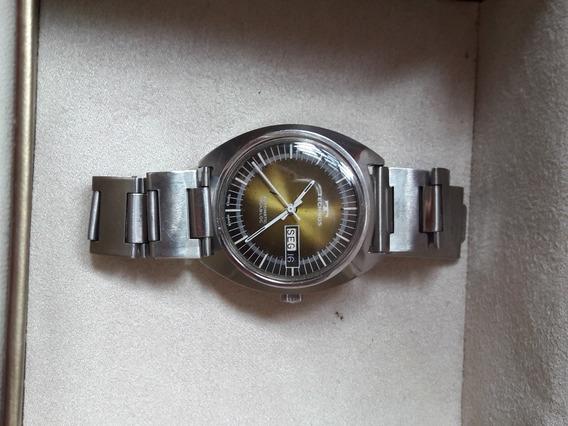 Raro Relógio Antigo Technos 10586 Automatic Incabloc Swiss