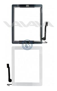 Digitalizador iPad 4 Blanco A1458 A1459 Boton + Etiquetas