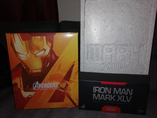 Hot Toys Ironman Mark 45 Die Cast Age Of Ultron Avengers