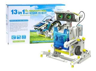 Juguete Educativo Kit Solar 13 En 1 Robotica