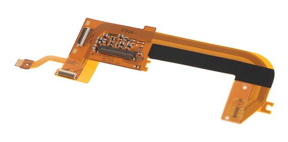 Traseiro Traseira Função Botão Flex Cabo Para Canon Eos 5d3
