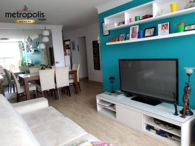 Apartamento Com 3 Dormitórios Para Alugar, 76 M² Por R$ 1.400/mês - Jardim Independência - São Paulo/sp - Ap1940