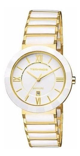Relógio Technos Elegance Sapphire Cerâmica 2015ce/4b