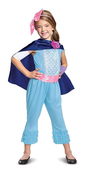 Disfraz 7 A 8 Años Bo Peep Disney Toy Story Niña Medium