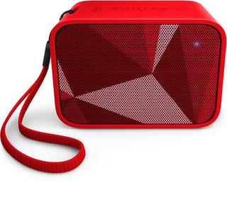 Philips Bt110r Parlante Portatil Bluetooth 4w Rms Rojo Pop