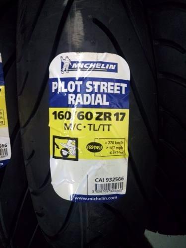 Pneu Michelin 160/60-17 Pilot Street Radial
