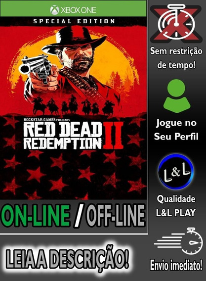 Red Dead Redemption 2 Ed. Especial Xbox One Digital + Brinde