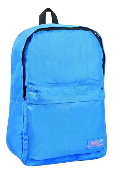Mochila Escolar 17 Pulgadas Azul Francia Con Bolsillo 3576