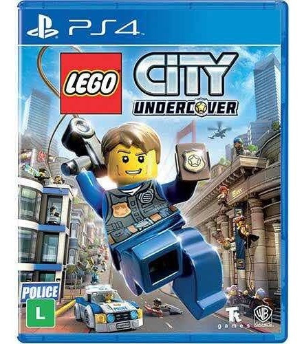 Lego City Ps4 Mídia Física