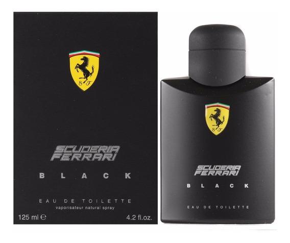 Perfume Ferrari Black Scuderia Masculino 125ml