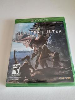 Monster Hunter World Xbox One Nuevo Sellado