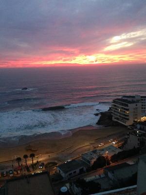 Reñaca, Disfrute Frente Al Mar, Disponible Desde Marzo