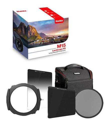 Haida Kit Filtros Para Fotografia Porta Filtro Sistema M15