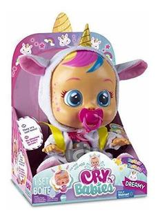 Cry Baby Dreamy Unicornio - Exclusiva Muñeca De Ensueño