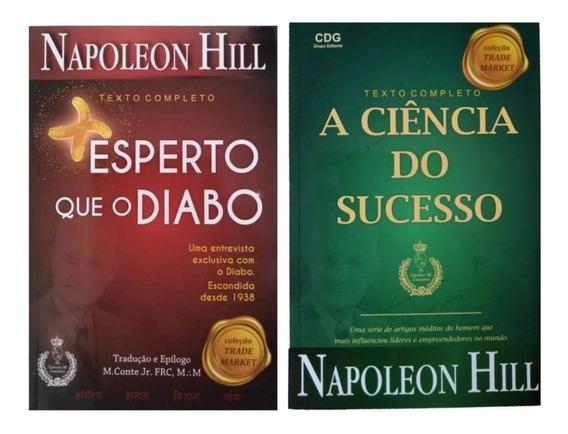 Livro Mais Esperto Que O Diabo + A Ciência Do Sucesso