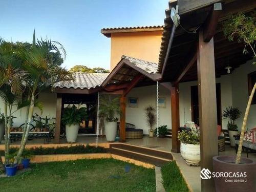 Casa À Venda, 320 M² Por R$ 850.000,00 - Ipanema Das Pedras - Sorocaba/sp - Ca1805