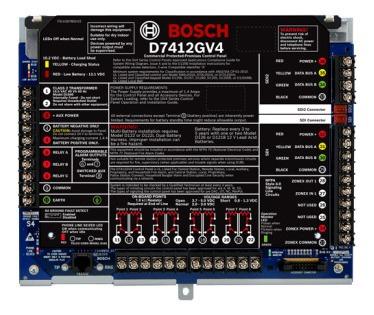 D7412gv4 Control Panel