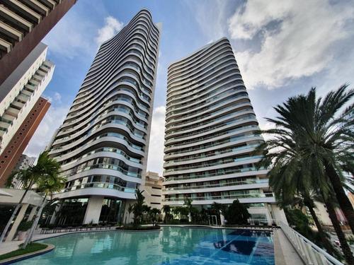 Apartamento Com 5 Suítes À Venda, 800 M² Por R$ 14.000.000 - Meireles - Fortaleza/ce - Ap1938