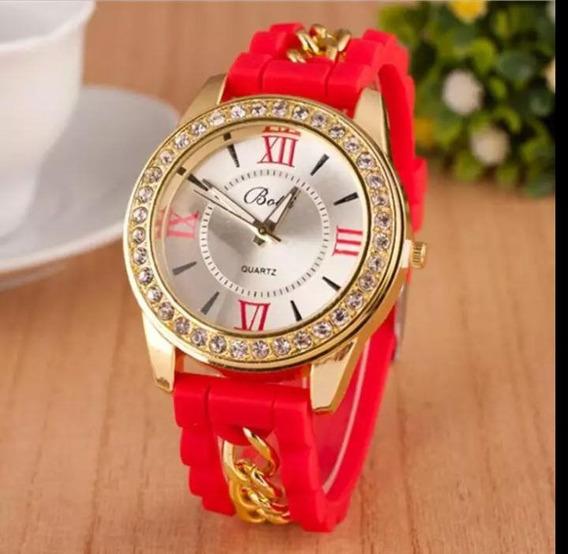 Relógio Feminino Pulso Mulheres Moda Casual Strass Luxo
