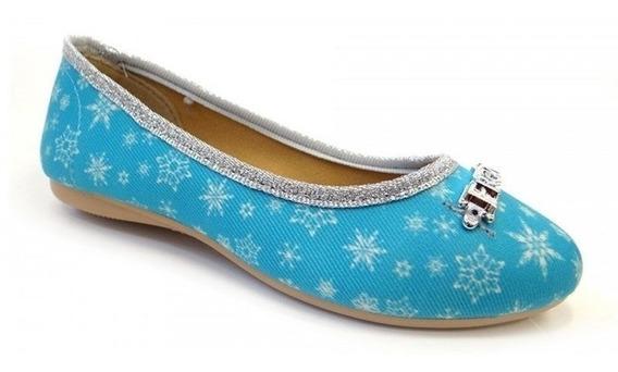 Sapatilha Frozen Ice Life 21461 Grendene - Azul