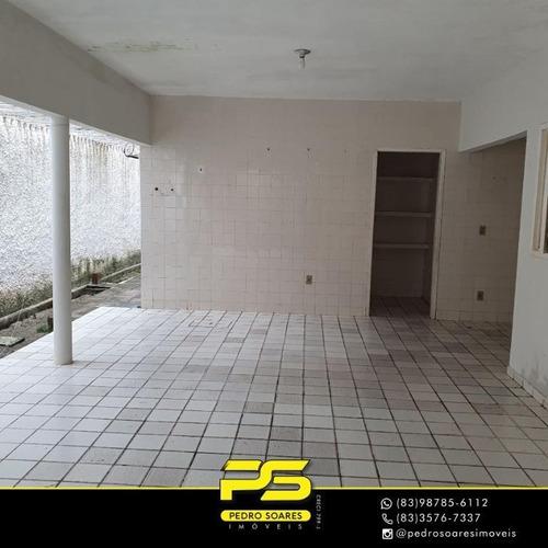 Casa Com 5 Dormitórios À Venda Por R$ 300.000,00 - Cristo Redentor - João Pessoa/pb - Ca0667