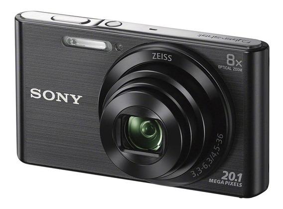 Camara De Fotos Sony Dsc-w830 Black - Aj Hogar