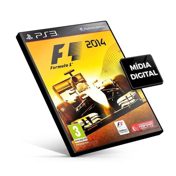 Jogo F1 2014 Ps3 Psn Game Em Inglês Promoção