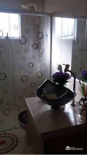 Casa Com 3 Dormitórios À Venda, 150 M² Por R$ 520.000,00 - Jardim Amaryllis - Poços De Caldas/mg - Ca1082
