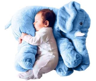 Elefante Para Bebe 60 Cms Almohada Abrazadora Mimaitos