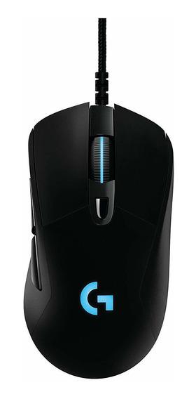 Mouse Logitech Usb Gamer Prodigy G403 Preto