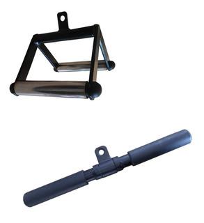 Puxador Triangulo + Barra Reta Pulley