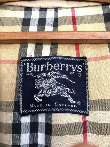 Sobretudo Masculino Burberry Original, Cor Caramelo
