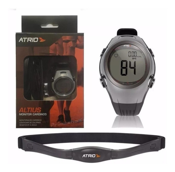 Relógio Monitor Cardíaco + Cinta Cardíaca Altius - Atrio