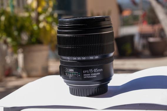 Lente Canon 15 85mm Usm
