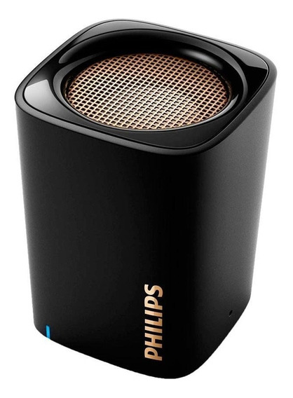 Caixa De Som Bluetooth Philips Bt100b Preto Aux 3.5mm