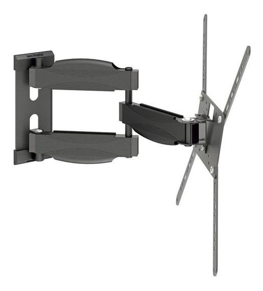"""Suporte Multivisão STPA Max de parede para TV/Monitor de 14"""" até 56"""" preto"""