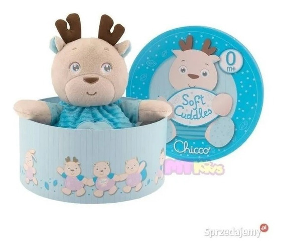 Peluche Reno Soft Cuddles - Chicco