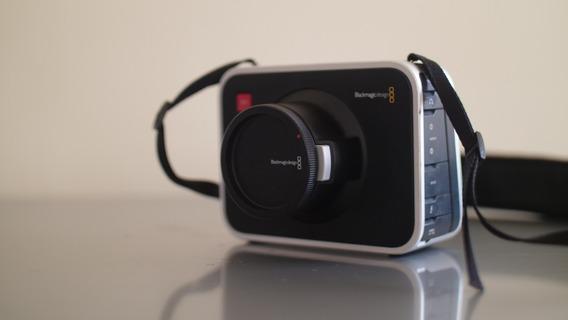 Câmera Cinema Blackmagic 2,5k Ef (3 Bat, 3 Ssd, Sdi-hdmi)