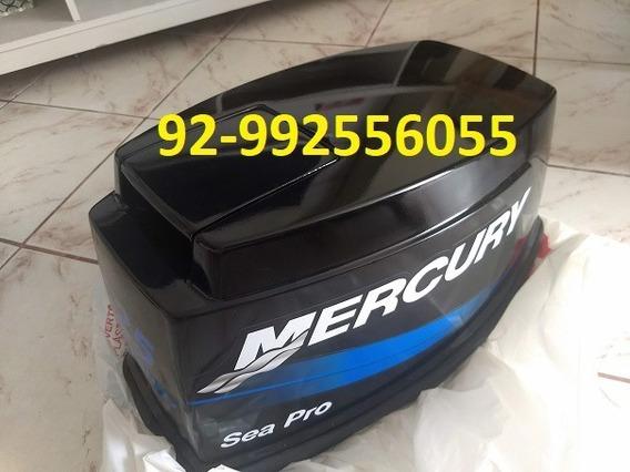 Capo Para Motor De Popa Mercury 25 Hp Paralelo Novo Sedex